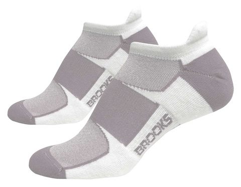 BROOKS ESSENTIAL LOW TAB  комплект беговых носков