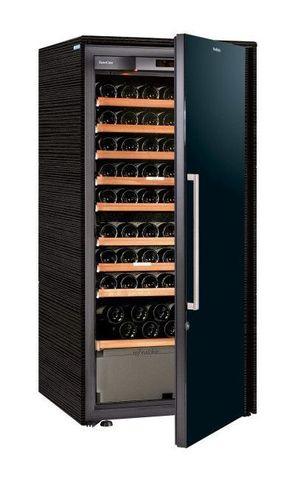 Винный шкаф EuroCave D Collection M чёрный, сплошная дверь, максимальная комплектация