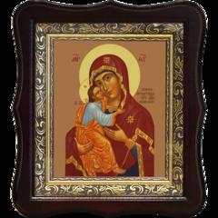 Умиление Псково-Печерская. Икона Божьей Матери на холсте.