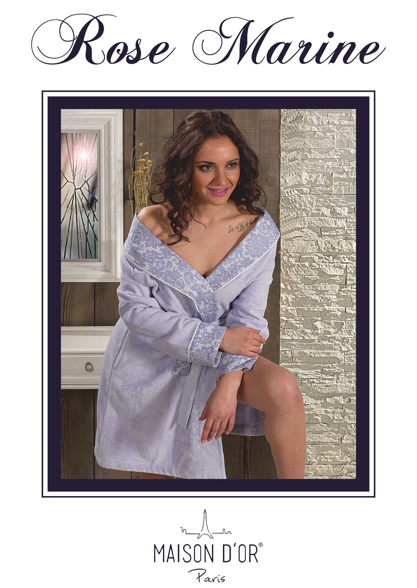 Махровые халаты ROSE MARINE- РОЗ МАРИН  женский бамбуковый халат Maison Dor Rose_Marine-K.jpg