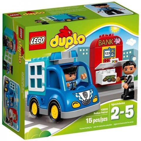 LEGO Duplo: Полицейский патруль 10809 — Police Patrol — Лего Дупло