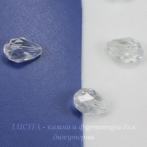 5500 Бусина - капля Сваровски Crystal 9х6 мм