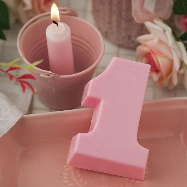 Форма пластиковая для мыловарения Единица