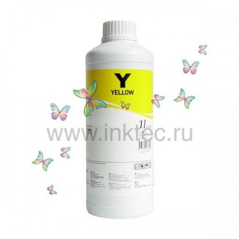 Чернила InkTec H5088-01LY для HP 88/88XL/711 (C9388A/C9393A), Yellow (желтые), 1 литр