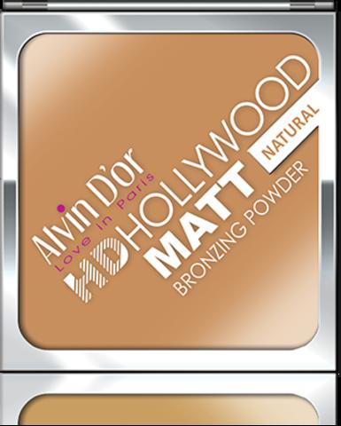 Alvin D`or P-16 Пудра комп. MATT Bronzing (тон 01 natural) Powder Hd Hollywod