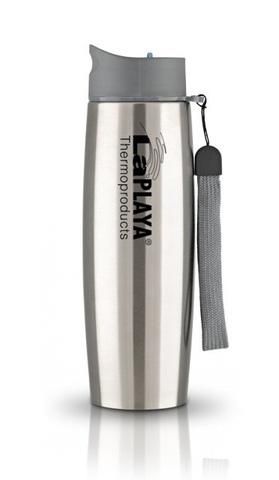 Термокружка La Playa Thermo Mug SS Strap (0,5л) серебристая