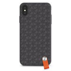 Чехол Moshi Altra с ремешком на запястье для iPhone XS Max. Материал пластик. Цвет черный.