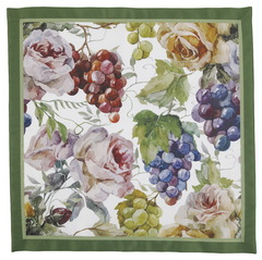 Салфетки 4 шт 40x40 Blonder Home Grape Notes