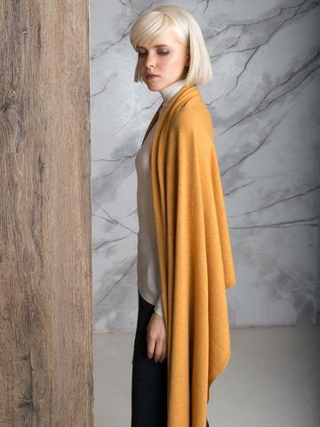 Мягкий шарф-палантин с рельефными краями - фото 2
