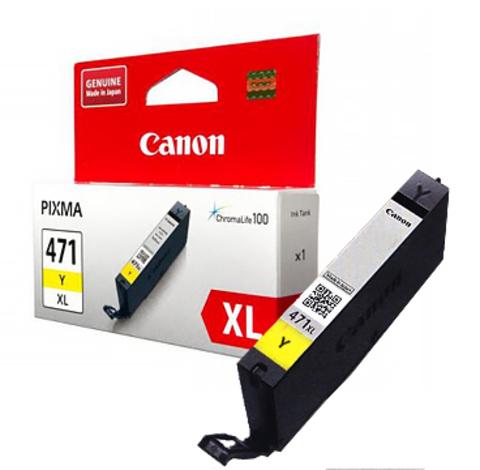 Картридж Canon CLI-471XL Y/0349C001