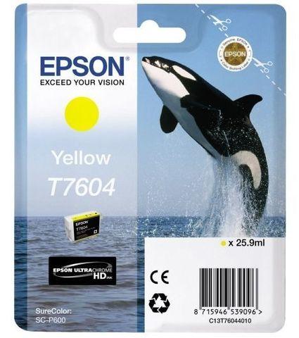 C13T76044010 - Картридж желтый Epson SureColor SC-P600