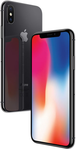 Смартфон Apple iPhone X 64/256GB Space Gray (Серый Космос)/Silver(Серебряный)