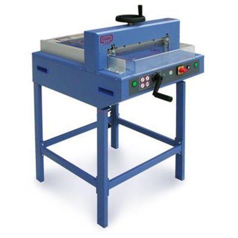 Электромеханический гильотинный резак Steiger E-4345 - до 450 листов бумаги форматов А3 и А2.