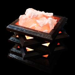 Солевая лампа Камин 2-3 кг
