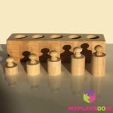 Блоки с цилиндрами-вкладышами для малышей 6