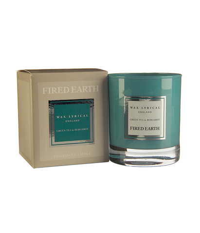 Свеча ароматическая в стекле Зеленый чай и бергамот, Wax Lyrical
