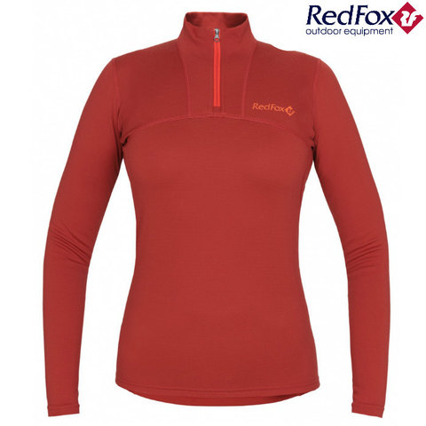 Рубашка 1/2 Element Merino красная Женская