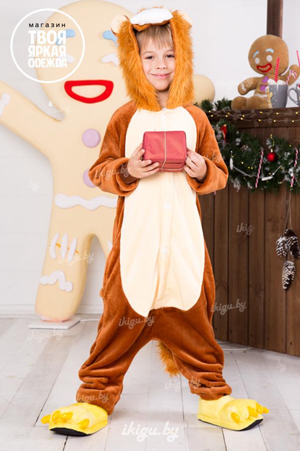 "Детские пижамы кигуруми ""Король лев"" leo.jpg"