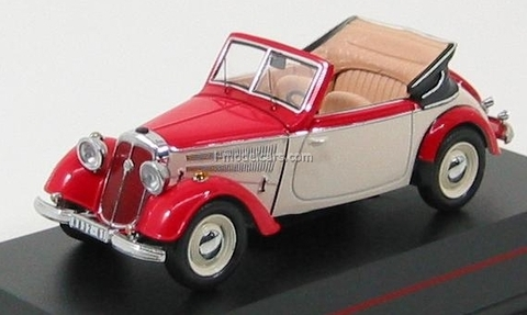 model cars ifa f8 cabrio red white 1953 ist054 ist models 1 43. Black Bedroom Furniture Sets. Home Design Ideas