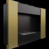 Встраиваемый в стену биокамин Kratki Bravo 2 (золотой)