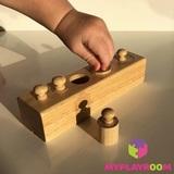 Блоки с цилиндрами-вкладышами для малышей 3
