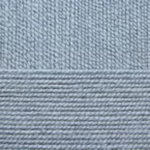 Пряжа Бисерная 39 Сероголубой Пехорка (упаковка 5 мотков), фото