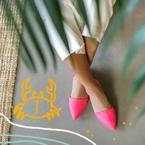Балетки Native Audrey Sakura Pink фуксия
