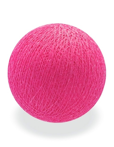Хлопковый шарик фуксия