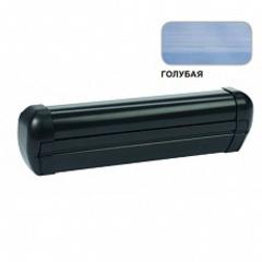Маркиза крышная с эл.приводом DOMETIC Premium RTA2035,цв.корп.-черный,ткани-голубой, Ш=3,5м