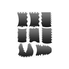 Трафарет для ногтей 1 уп. № LE2-1