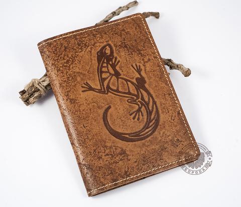 BY14-23-06 Обложка на паспорт из натуральной кожи