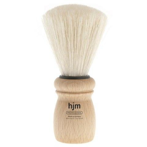 Помазок HJM, профессиональный, щетина кабана, светлый бук, размер XL