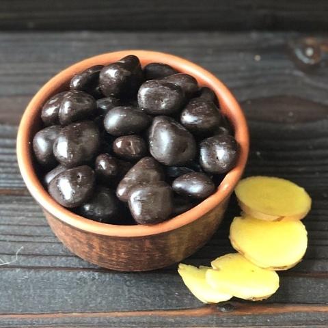 Фотография Имбирь в темном в шоколаде, 250 г купить в магазине Афлора