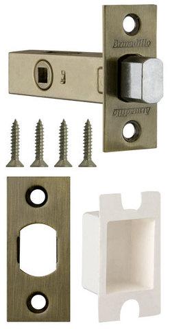 Фурнитура - Задвижка Дверная   , цвет бронза