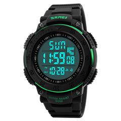 Часы SKMEI 1237 - Черный + зеленый