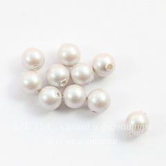 5810 Хрустальный жемчуг Сваровски Crystal Iridescent Dove Grey круглый 4 мм, 10 штук