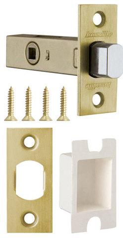 Фурнитура - Задвижка Дверная   , цвет матовое золото