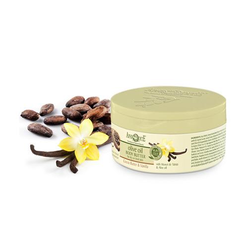 Крем-масло для тела с какао и ванилью Aphrodite 200мл