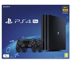 Sony PlayStation 4 Pro Black 1Tб (CUH-7200) + второй DualShock 4
