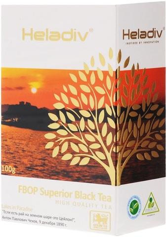 """Чай черный """"Heladiv"""" FBOP 100г"""