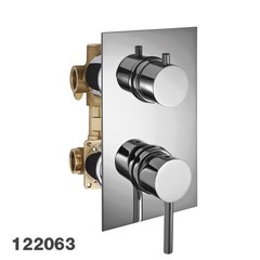 Смеситель встраиваемый на 3 потребителя со встраиваемой частью Palazzani Idrotech 12206310 фото