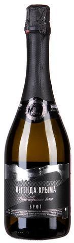 Вино Легенда Крыма игристое белое брют 0,75л