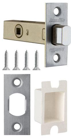 Фурнитура - Задвижка Дверная   , цвет никель