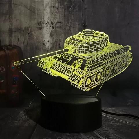 Лампа Танк Т-34
