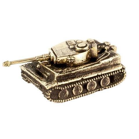 Танк Tiger I отечественного производства из бронзы RH00951