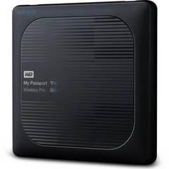 """Внешний жесткий диск WD My Passport Wireless Pro 1ТБ 2,5"""" 5400RPM USB 3.0/WiFi/SD"""