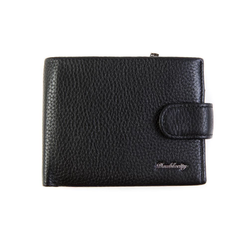 Компактное портмоне из натуральной кожи с RFID-защитой от считывания Dublecity 120-DC32-04A