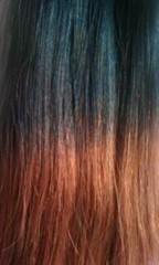 Набор 8 прядей, Шоколадный дуэт.Модный вариант покраски OMBRE HAIR
