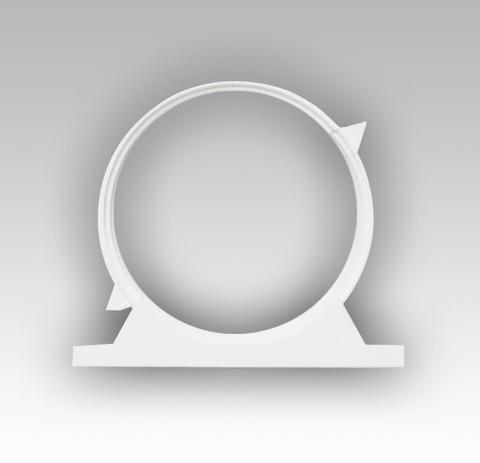 Держатели круглых воздуховодов с уплотнителем 100 мм