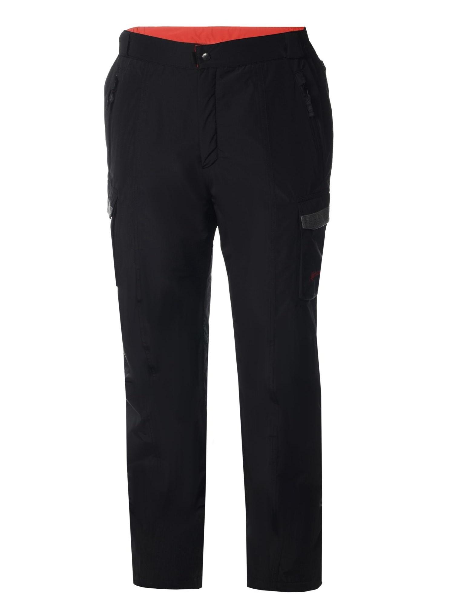 Мужские горнолыжные брюки Almrausch Hochbruck 321300-0909 черные фото
